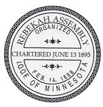 MN Rebekah Assembly Seal